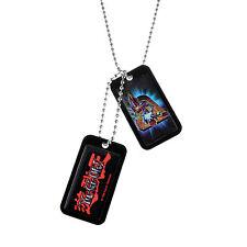 Yu-Gi-Oh Dark Magician Dog Tags  NECA