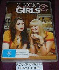 2 BROKE GIRLS - THE COMPLETE SECOND SEASON DVD (3 DISC SET) REGION 4