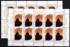 Vatikan 2012 KB Klb Kleinbogen Satz Nr.1740 - 1741 ** MNH  Europa Besuche