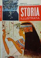 STORIA ILLUSTRATA LUGLIO 1966 LA MASSONERIA I PIGMEI GLI ANTICHI EGIZI