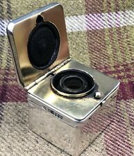 More details for victorian silver travelling inkwell london 1856
