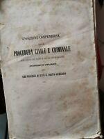 PROCEDURA CIVILE E CRIMINALE 1865 MATTEO PESCATORE