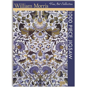 William Morris 1000 piece Jigsaw, Gifted Stationery