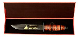 IWO JIMA MILITARY KNIFE VALUES COLLECTION VALUE $129,95