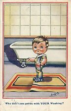 POSTCARD  COMIC   Children  Why don't  you get on....     Gilson
