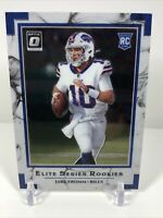 2020 Donruss Optic - Jake Fromm Elite Series Rookies #ESR-JF - Buffalo Bills RC