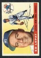 1955 Topps #109 Ed Lopat EX+ Yankees 84502