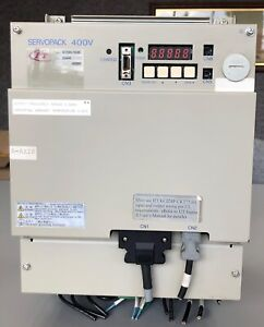 Yaskawa Servopack SGDH-75DE AC Servo Drive, 7.5 Kw, Guaranteed