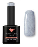 FL006 VB™ Line Candy Floss Dark Blue White - UV/LED soak off gel nail polish