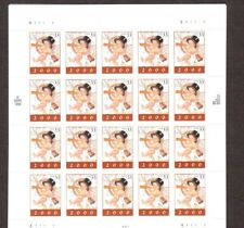 STAMPS FULL SHEET 33 cent # 3369 MILLENNIUM NEW YEAR BABY 2000