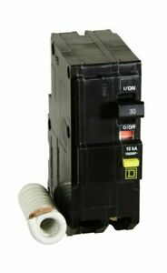 NEW Square D QO230GFICP QO 30A 120/240 2 Pole Circuit Breaker FREE PRIORITY MAIL