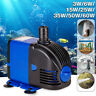 3-60W Submersible Aquarium Water Pump Fish Tank Powerhead Fountain Hydroponic !