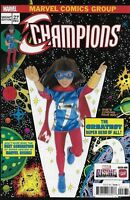 CHAMPIONS #27 MARVEL RISING ACTION DOLL HOMAGE VARIANT COVER KAMALA KHAN NEW MS