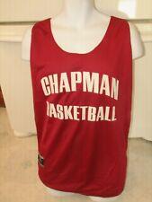Chapman University Orange Ca Basketball team practice jersey reversible