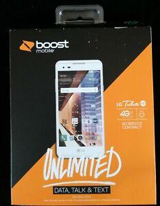 New LG Tribute HD White 16GB Boost Mobile 4G LTE