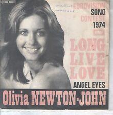"OLIVIA NEWTON-JOHN 7""PS Belgium 1974 Long live love"