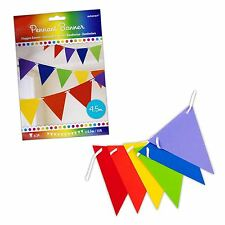4.5m Arcoiris Papel Guirnalda Pancarta Bandera Decoración Fiesta Orgullo Gay