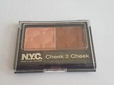 BRAND NEW - NYC Cheek 2 Cheek Duo Blusher - #6 Sienna Sun