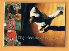 1994-95 Collector's Choice Michael Jordan Decade of Dominance #J1 Chicago Bulls