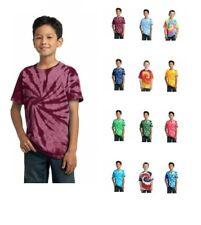 Port & Firma Jugend Tie-Dye T-Shirt Kinder Kinder PC147Y Hemd