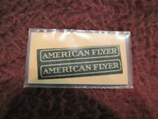 O AMERICAN FLYER DECAL - AF STICKER 2-LINES - REPRO/NOS