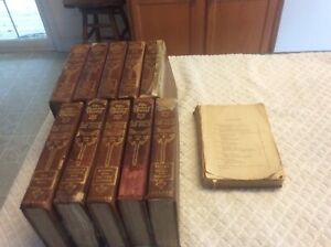 Jr Classics A Library For Boys & Girls 1912,collier Volumes 1-10, Family Estate