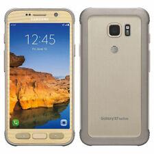 "Samsung Galaxy S7 Active Sm-g891a 32 GB Sbloccato Oro 5 1"" Smartphone 4gb RAM"