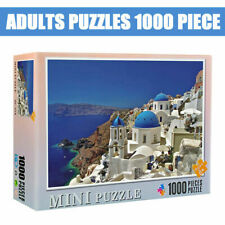 Aegean Sea Scenery 1000Piece Jigsaw Puzzles Assembling Kid Toys Interactive Game
