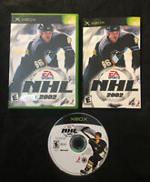 NHL 2002 — Complete! Manual Included! Fast Free Shipping! (Microsoft Xbox, 2001)