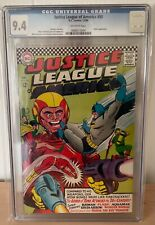 JUSTICE LEAGUE OF AMERICA #50 - CGC 9.4 - ROBIN APPEARS - OFF WHITE PAGES