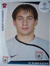 Panini 397 Sergey Ryzhikov Rubin Kazan UEFA CL 2009/10