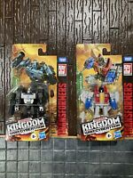 "Transformers War For Cybertron Kingdom Core  MEGATRON 4"" / Starscream 2 Pack"