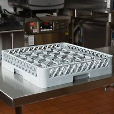 2 PACK Commercial Dishwasher Dish Washer Machine 36 Cup Glass Rack Automatic