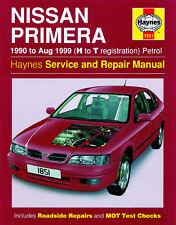 1851 Haynes Nissan Primera Benzina (1990-AGOSTO 1999) H A T MANUALE OFFICINA