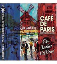 Cafe De Paris Les Années Caf' Conc' 2 CD 50 French Classics Berthe Sylva UK NEW