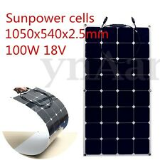 SUNPOWER 100W 18V 100watt PANEL SOLAR PANELS DIY MONO SEMI-FLEXIBLE SOLARPANEL