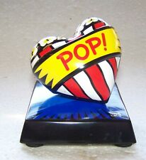 POP ART ** BURTON MORRIS ** LOVE POP ! BLUE