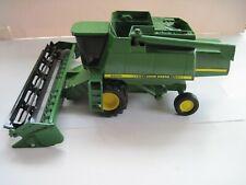 John Deere Farm Toy Tractor/Combine 9600  1/20 Ertl