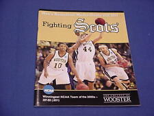 2012-13 The College of Wooster Basketball Media Guide