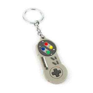 SNES Controller Keychain Retro Brand New Key Chain Ring Keyring Super Nintendo