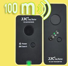 JJC 100m Fernauslöser Funkauslöser f. Canon EOS 5D 6D 7D 40D 50D RS-80N3 TC-80N3
