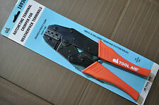 S&G Tool Aid 18930 Weather PackTterminals Ratcheting Terminal Crimper Plier