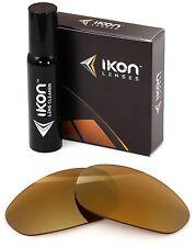 Polarized IKON Iridium Replacement Lenses For Oakley Twenty XX 2000 24K Gold