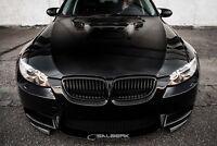 Nieren Set schwarz glänzend für BMW 3er M3 Coupe E92 Frontgrill Salberk 9003