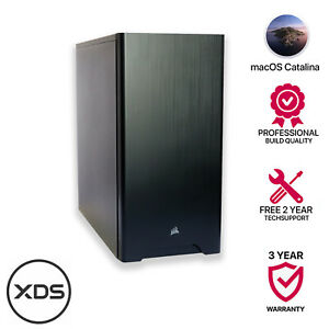 i7 10700K,8 Core 3.8GHz,64GB 3000MHz,1TB M2.0,8GB WX5100,TB.3 macOS Catalina
