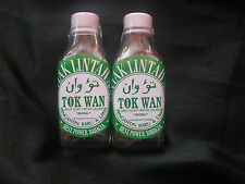 2 x 30ml Glass Bottles Leech Oil Minyak Lintah for Blood Flow & Enlargement