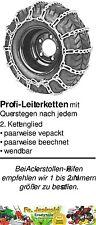 Schneeketten-Satz 18x8.50-8 für kleine Maschinen Leiterkette Rasentraktor Ketten