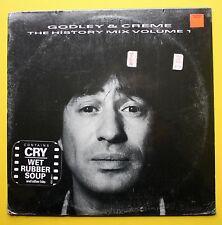 Godley & Creme Sealed Polydor LP 1985 Hype Sticker