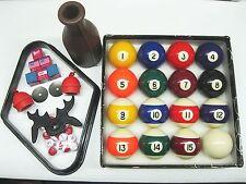 """2-1/4"""" NEW Premium Billiard Pool Table Ball Set w/ Accessory Kit"""