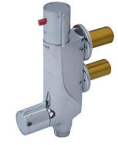 Static Caravan V100 TMV2 Vertical Thermostatic Shower Mixer 45mm Centres Genuine